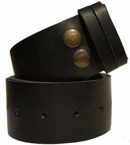 50mm Snap Fit Leather Belt
