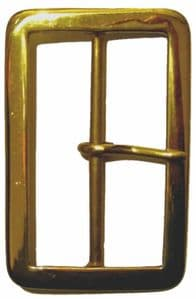 75mm Solid Brass Buckle (BUC046)