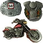 Biker / Scooter / Motorcycle Belt Buckles