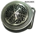 CELTIC KNOT Belt Buckle + display stand