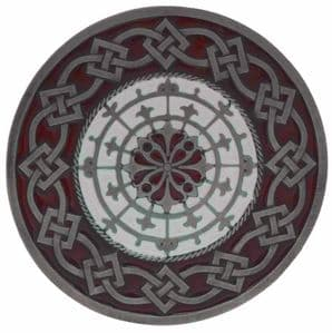 Celtic Round Belt Buckle with display stand (KA8)