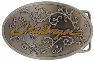 Challenger Belt Buckle with display stand (LE6)