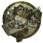 DEAD KING & AXE silver/gold/stones