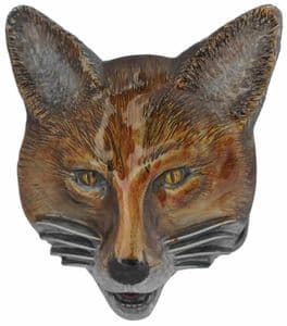 Fox Head Belt Buckle with display stand. Code CB5