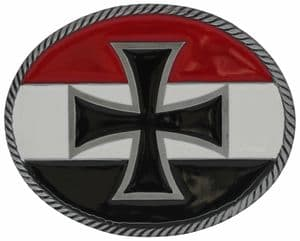 Imperial Cross Belt Buckle with display stand (LD8)