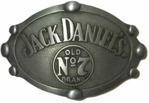 Jack Daniel's Oval Old no 7 Officially Licensed Belt Buckle + display stand. Code BUC069