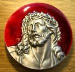 JESUS (THORNS) BELT BUCKLE + display stand