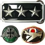Military Army / Navy / Air Force Belt Buckles