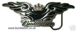 OFFICIALLY LICENSED BUDWEISER EAGLE BELT BUCKLE + display stand