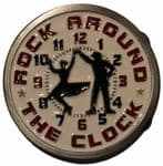 Rock Around The Clock Jive Dancing Belt Buckle. Code BG7