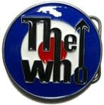 THE WHO (target) Belt Buckle + display stand - Made in USA
