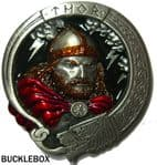 Thor The Powerful Norse God Belt Buckle. Code DL6