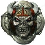 Viking with Horned Helmet + display stand. Product code: EF8
