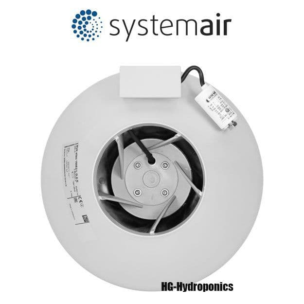 """10"""" System Air RVK Extractor Fan A1 860 M3/HR"""