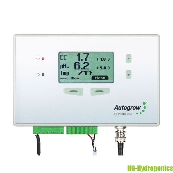AutoGrow IntelliDose Controller with 3 Peristaltic Pumps