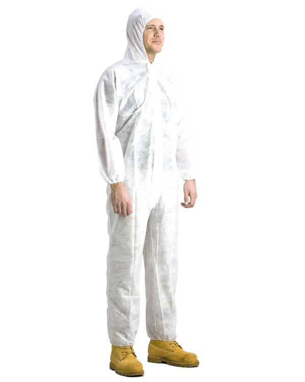 Disposable boiler Suit protective overalls