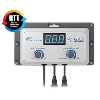 Fan, Temperature & Humidity controllers