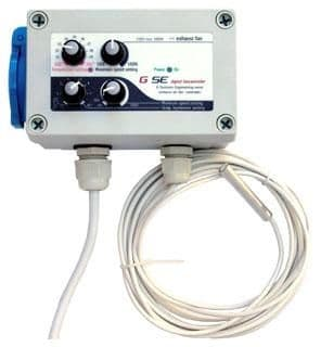 GSE Temperature & Min Max Hysteresis Speed Controller