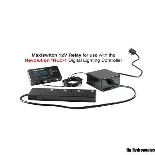 Maxiswitch 12V Relay 13A 4 Way use with RLC-1 controller