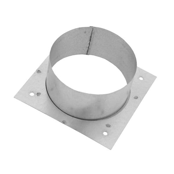 Metal Ducting  Wall Plate