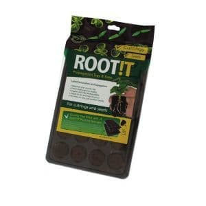 ROOT!T Natural Rooting Sponge 24 Cell Filled Trays