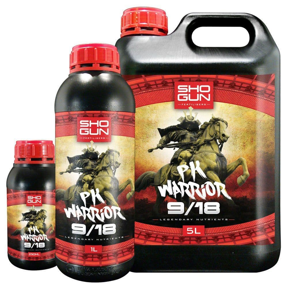 Shogun Nutrients - PK Warrior 9/18