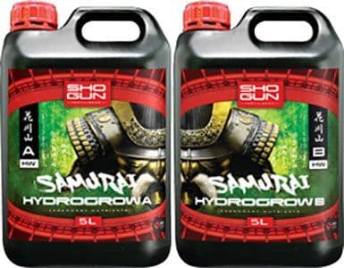 Shogun Nutrients - Samurai Hydro Grow A+B