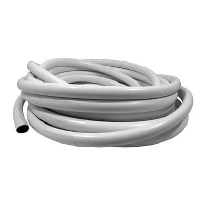 White Pvc Reinforced Hose Pipe 25mm x 25m