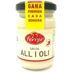 Alioli | Salsa All I Oli | Garlic Sauce | Buy Online | Spanish Food | Ingredients| UK