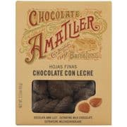 Amatller Milk Chocolate Leaves from Spain