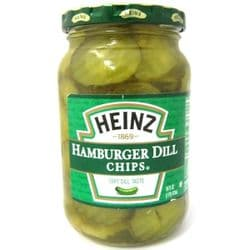 Heinz Hamburger Dill Chips| Buy Online | Authentic American Food | UK | Europe