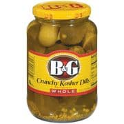 B&G Whole Kosher Dill Pickles (946ml, 32floz)