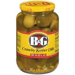 B&G Kosher Dill Pickles | Whole | Buy Online | American Food | UK