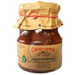 Calabrian Tropea Red Onions  IGP | Agrodolce | Buy Online | Italian Food | UK