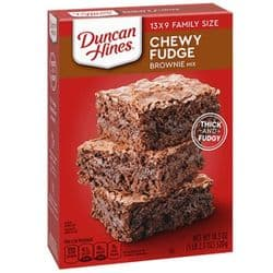 Duncan Hines Chewy Fudge Brownie Mix | American | Buy Online | UK | Europe