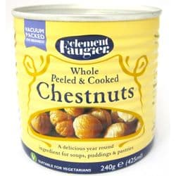 Clement Faugier Whole Chestnuts | Cooked | Vacuum Packed | Buy Online | UK