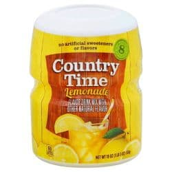 Country Time Lemonade Mix | 8 Quarts | Buy Online | American | UK | Europe