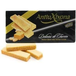 Delicias de Turron | Almond Nougate Cream Wafer Biscuits | Spanish | Buy  Online | UK