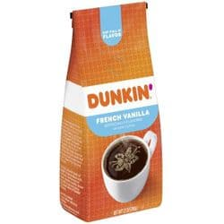 Dunkin' Donuts French Vanilla Coffee  12oz | Ground | American | Buy Online | UK
