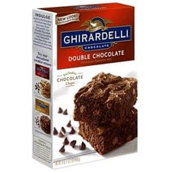 Ghirardelli Double Chocolate Brownie Mix | American | Buy Online | UK
