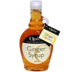 Ginger Syrup | Opies | Buy  Online | Food | UK | Europe