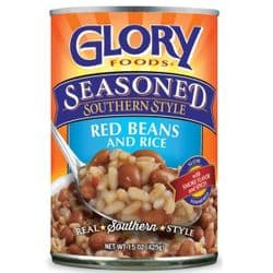 Glory Red Beans & Rice, Southern-Style 425g,| American | Buy Online | Food & Ingredients | UK | Europe