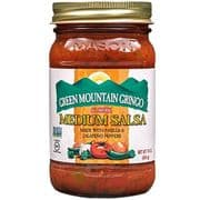 Green Mountain Gringo Medium Salsa (453g, 16oz)