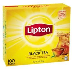 Lipton Yellow Label Tea | 100 Bags | Buy Online | UK | Europe