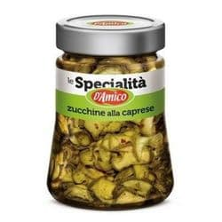 Marinated Courgettes | Zucchini | Capri Style | Buy Online | Italian Food | UK