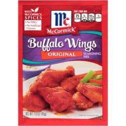 McCormick Buffalo Wing Seasoning Mix | American | Food | Ingredients | UK