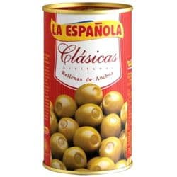 Anchovy Stuffed Green Olives   Buy Online   Spanish Food   UK   Europe