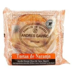 Orange Torta de Aceite | Spanish Biscuits | Buy Online | UK | Europe