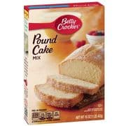 Pound Cake Mix, Betty Crocker (American)