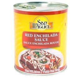 Red Enchilada Sauce 794g | San Miguel | Buy Online | Authentic Mexican | UK | Europe